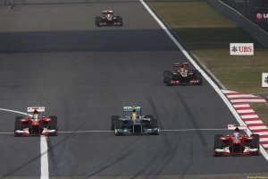Motor Racing - Formula One World Championship - Chinese Grand Prix - Race Day - Shanghai, China