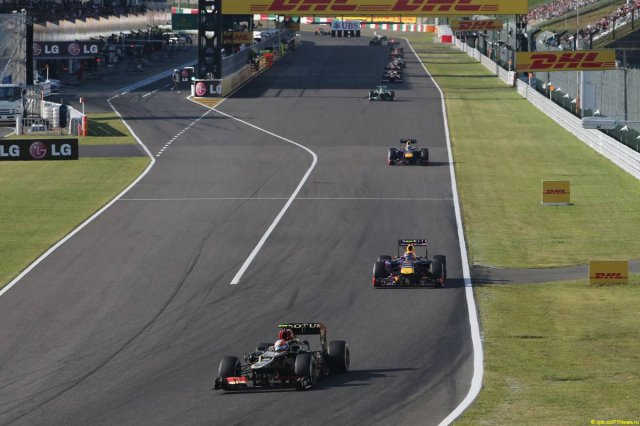 Motor Racing - Formula One World Championship - Japanese Grand Prix - Race Day - Suzuka, Japan