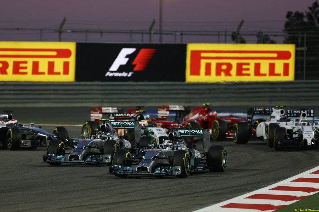 Motor Racing - Formula One World Championship - Bahrain Grand Prix - Race Day - Sakhir, Bahrain