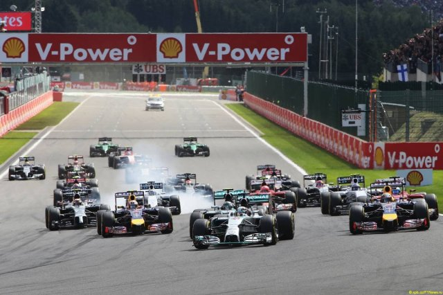 Motor Racing - Formula One World Championship - Belgian Grand Prix - Race Day - Spa Francorchamps, Belgium