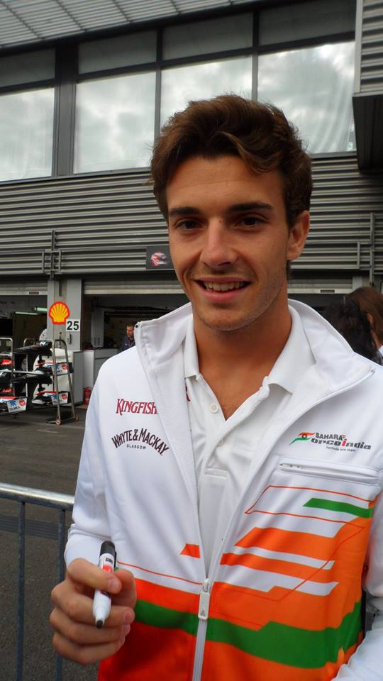 Jules Bianchi Spa 2012