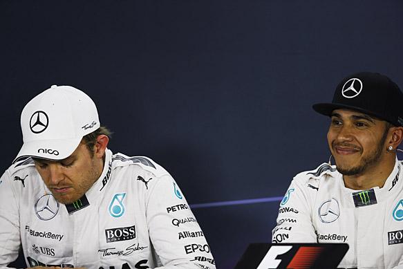 Nico: I'm angry. Lewis: I'm not.
